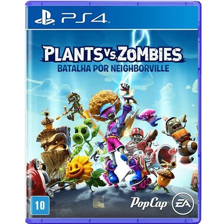 Jogo Plants Vs Zombies Batalha por Neighborville - PS4