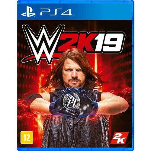Jogo WWE 2K19 - PS4 Seminovo