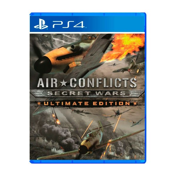 Jogo Air Conflicts Secret Wars Ultimate Edition - PS4