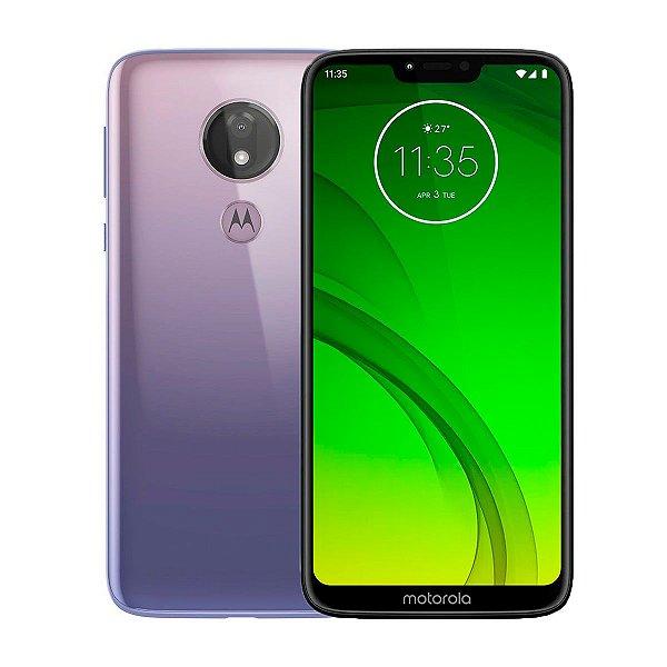 Smartphone Motorola Moto G7 Power 64GB 4GB Lilás (Seminovo)