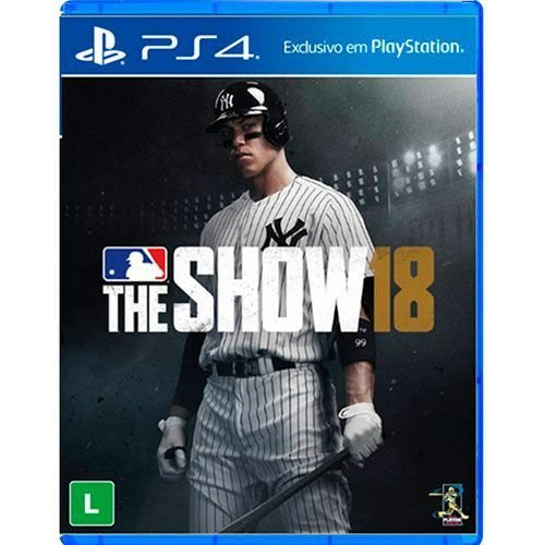 Jogo MLB The Show 18 - PS4 Seminovo