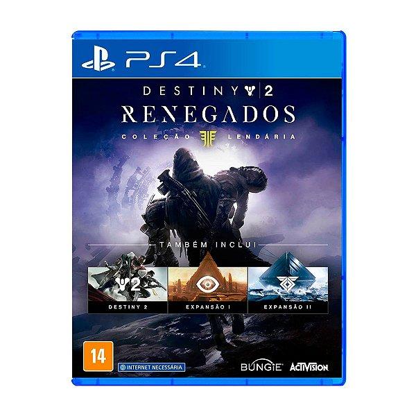 Jogo Destiny 2 Renegados - PS4