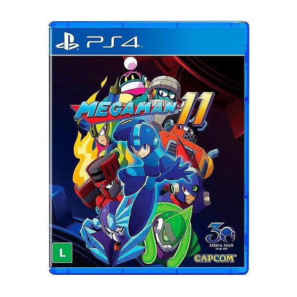 Jogo Mega Man 11 - PS4