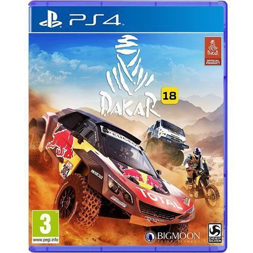 Jogo Dakar 18 - PS4