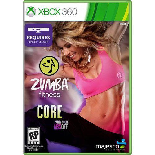 Jogo Zumba Fitness Core - Xbox 360 (Seminovo)