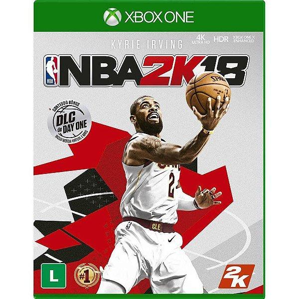 Jogo NBA 2K18 - Xbox One Seminovo