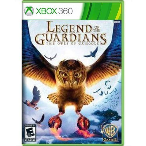 Jogo Legend of the Guardians The Owls of Ga-Hoole - Xbox 360 (Seminovo)