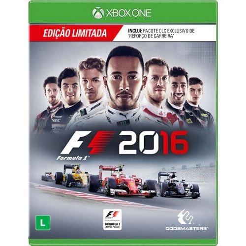 Jogo F1 2016 - Xbox One Seminovo