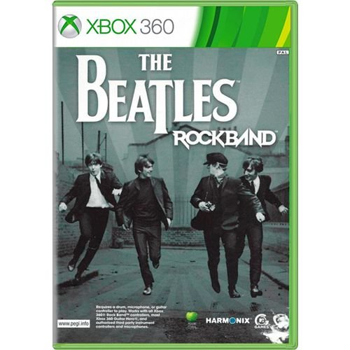 Jogo The Beatles Rock Band - Xbox 360 (Seminovo)