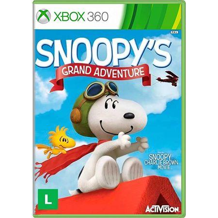 Jogo Snoopys Grand Adventure - Xbox 360 (Seminovo)