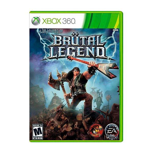 Jogo Brutal Legend - Xbox 360 (Seminovo)