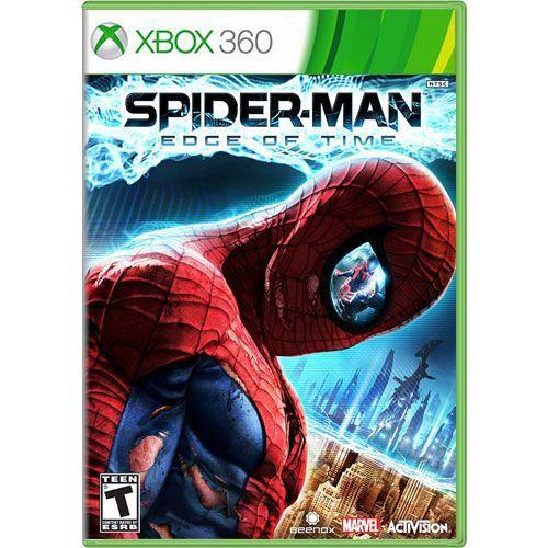 Jogo Spider Man Edge of Time - Xbox 360 (Seminovo)