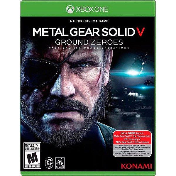 Jogo Metal Gear Solid V Ground Zeroes - Xbox One