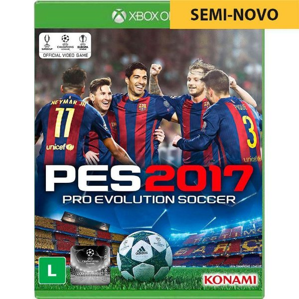 Jogo PES 2017 - Xbox One Seminovo
