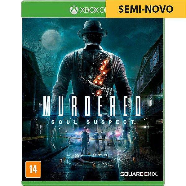 Jogo Murdered Soul Suspect - Xbox One Seminovo