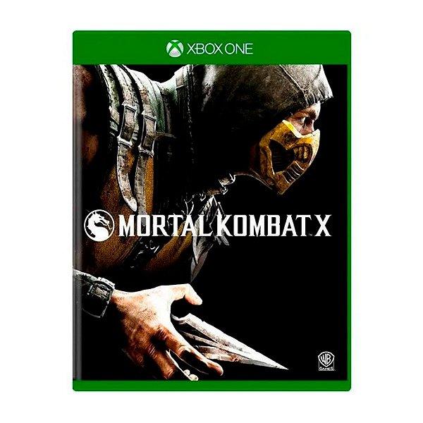 Jogo Mortal Kombat X - Xbox One Seminovo