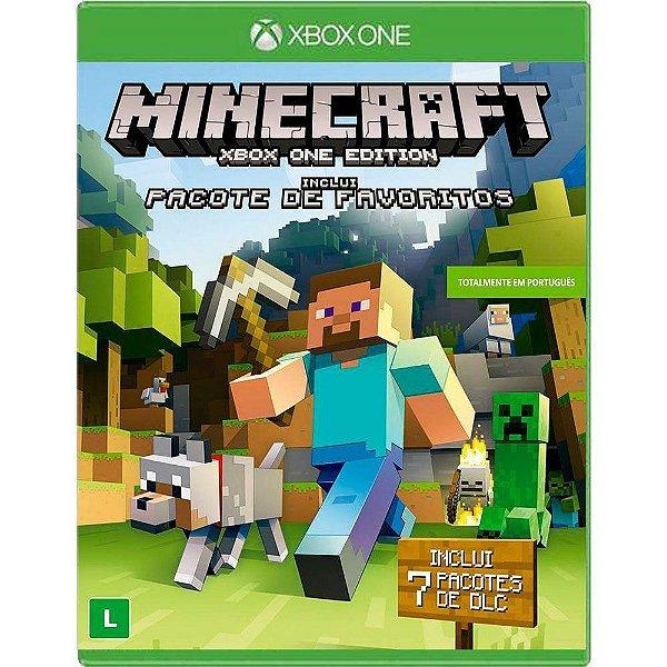 Jogo Minecraft Favorite Pack - Xbox One