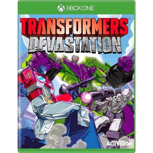 Jogo Transformers Devastation - Xbox One