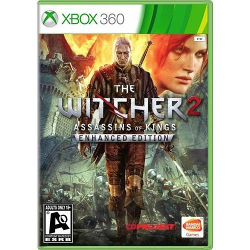 Jogo The Witcher 2 Assassins of Kings Enhanced Edition - Xbox 360 (Seminovo)