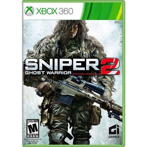 Jogo Sniper Ghost Warrior 2 - Xbox 360 (Seminovo)