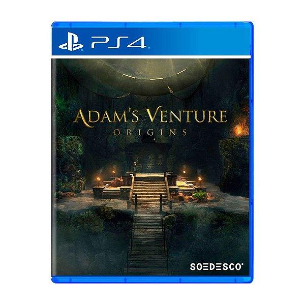 Jogo Adams Venture Origins - PS4
