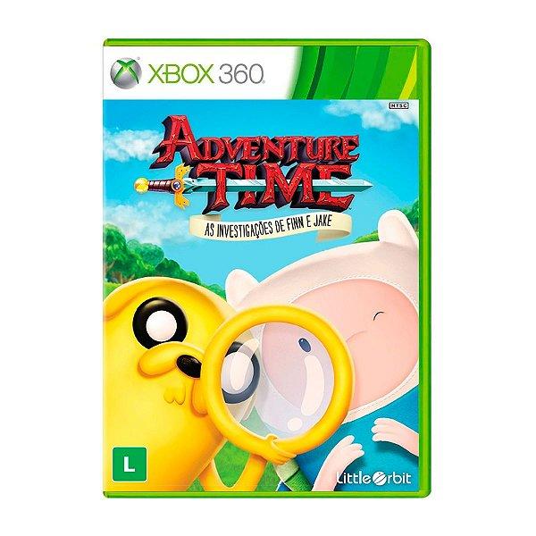 Jogo Adventure Time As Investigações de Finn e Jake - Xbox 360 Seminovo