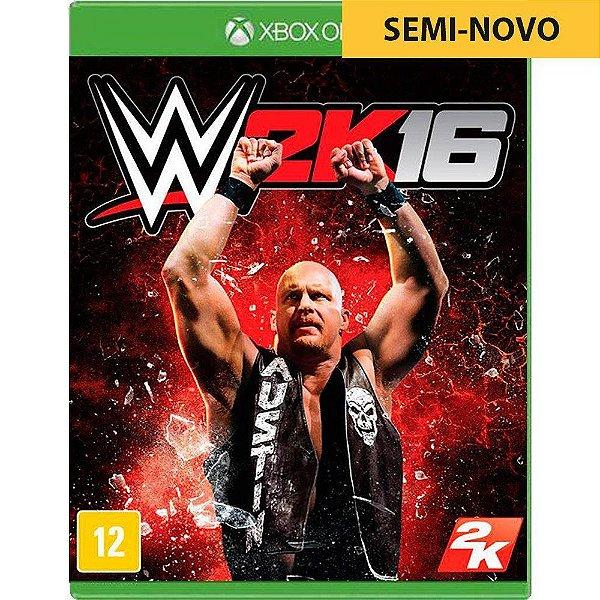 Jogo WWE 2K16 - Xbox One Seminovo