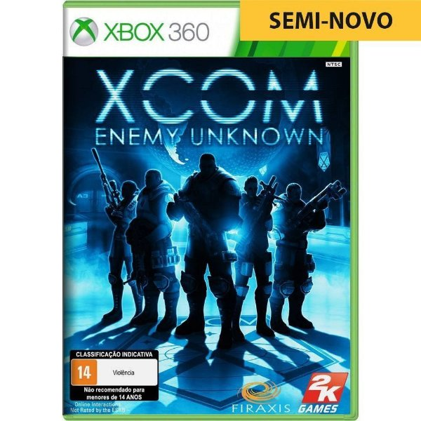 Jogo XCOM Enemy Unknown - Xbox 360 (Seminovo)