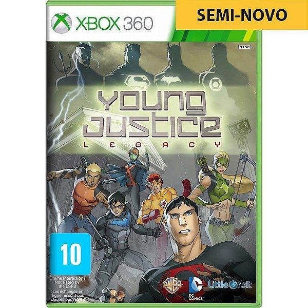 Jogo Young Justice - Xbox 360 (Seminovo)