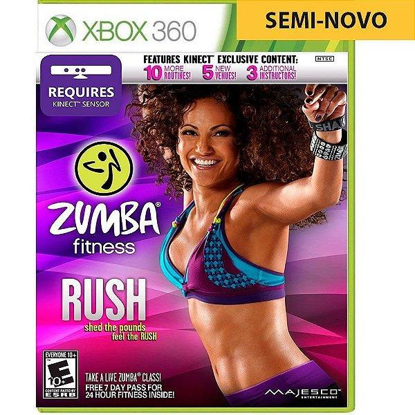 Jogo Zumba Fitness Rush - Xbox 360 (Seminovo)