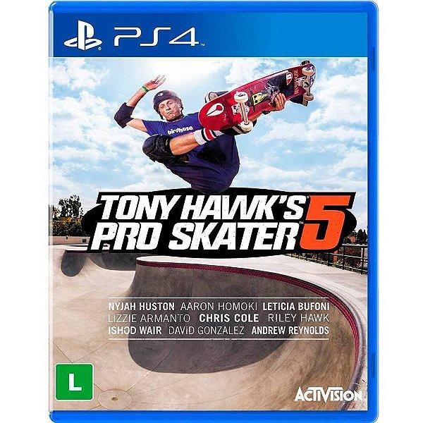 Jogo Tony Hawk Pro Skater 5 - PS4