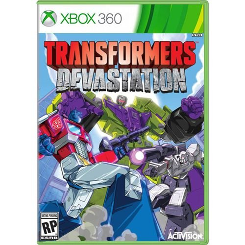 Jogo Transformers Devastation - Xbox 360 (Seminovo)