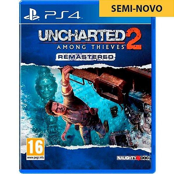 Jogo Uncharted 2 Among Thieves - PS4 Seminovo