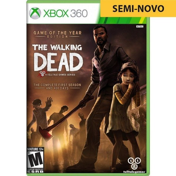 Jogo The Walking Dead Game of The Year - Xbox 360 (Seminovo)