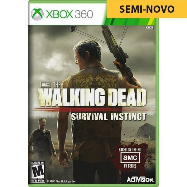 Jogo The Walking Dead Survival Instinct - Xbox 360 (Seminovo)