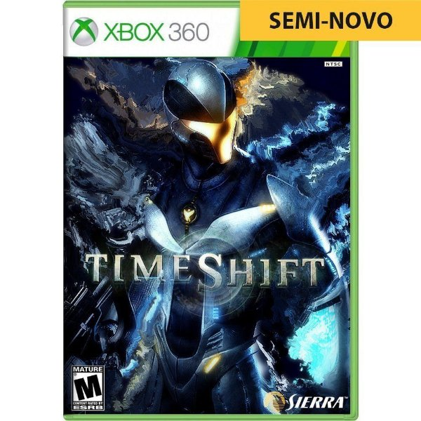 Jogo Time Shift - Xbox 360 (Seminovo)
