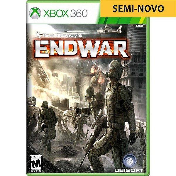 Jogo Tom Clancys Endwar - Xbox 360 (Seminovo)