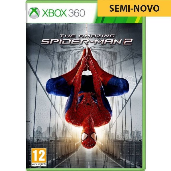 Jogo The Amazing Spider Man 2 - Xbox 360 (Seminovo)