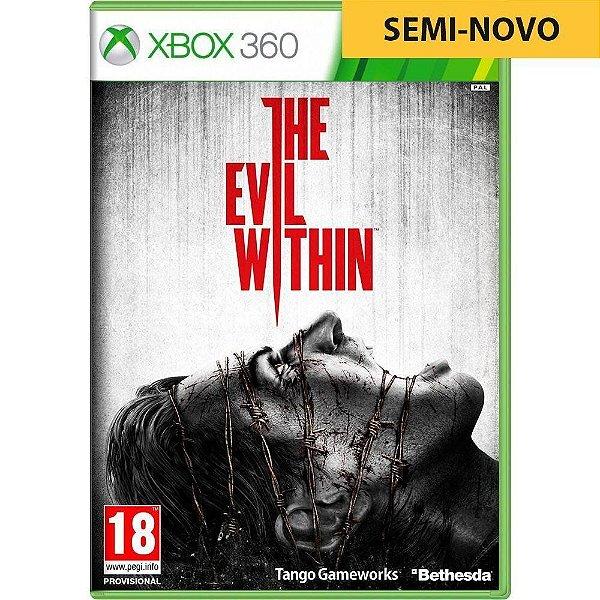 Jogo The Evil Within - Xbox 360 Seminovo