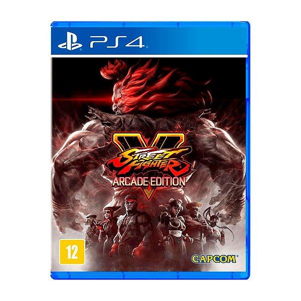 Jogo Street Fighter V Arcade Edition - PS4
