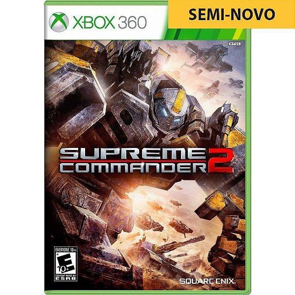 Jogo Supreme Commander 2 - Xbox 360 (Seminovo)