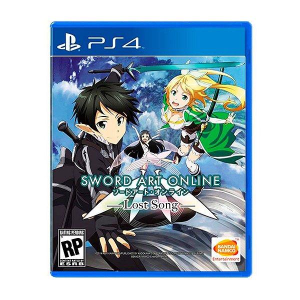 Jogo Sword Art Online Lost Song - PS4