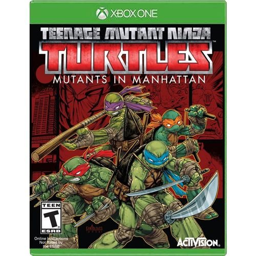 Jogo Teenage Mutant Ninja Turtles Mutants in Manhattan - Xbox One