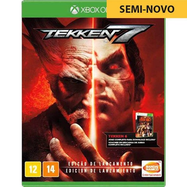 Jogo Tekken 7 - Xbox One Seminovo