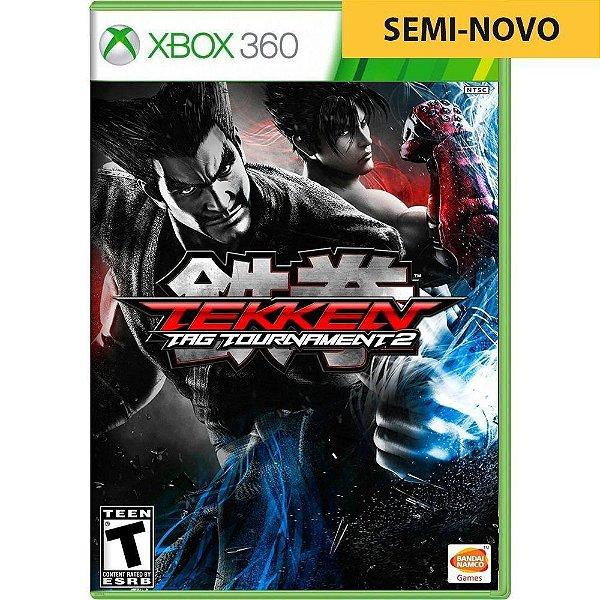 Jogo Tekken Tag Tournament 2 - Xbox 360 (Seminovo)