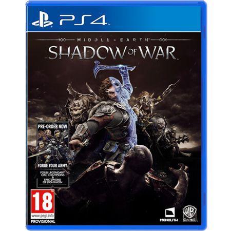 Jogo Terra-Média Sombras da Guerra - PS4