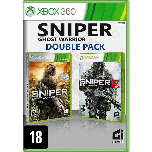 Jogo Sniper: Ghost Warrior (Double Pack) - Xbox 360 (Seminovo)
