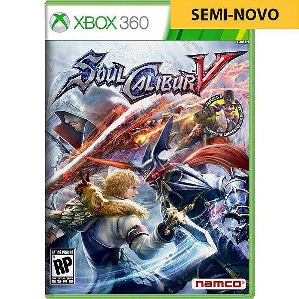 Jogo Soul Calibur V - Xbox 360 Seminovo