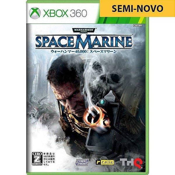 Jogo Space Marine - Xbox 360 (Seminovo)