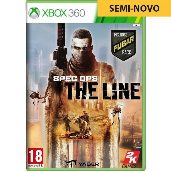 Jogo Spec Ops The Line - Xbox 360 (Seminovo)